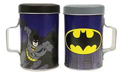 Batman Salt and Pepper Shakers