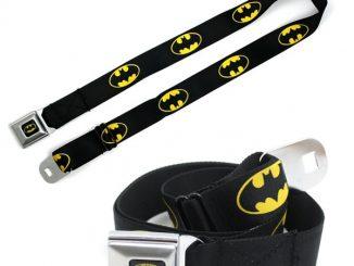 Batman Seatbelt Belt