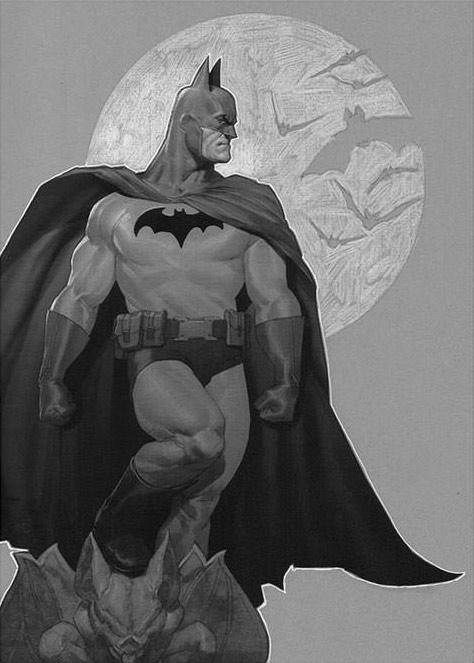 Batman Sentinel of Gotham Premium Print