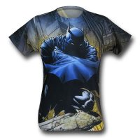 Batman Shadowed Cowl Sublimated T-Shirt