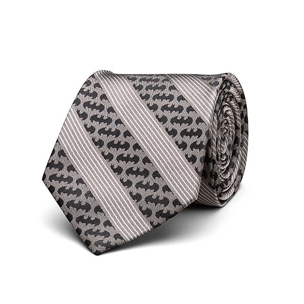 Batman Signal Pinstripe Tie