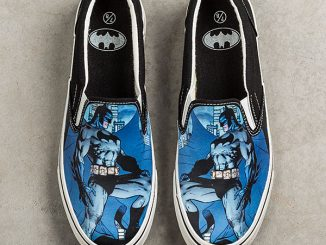 Batman Slip-On Sneakers