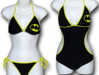 Batman String Bikini Swimsuit Set
