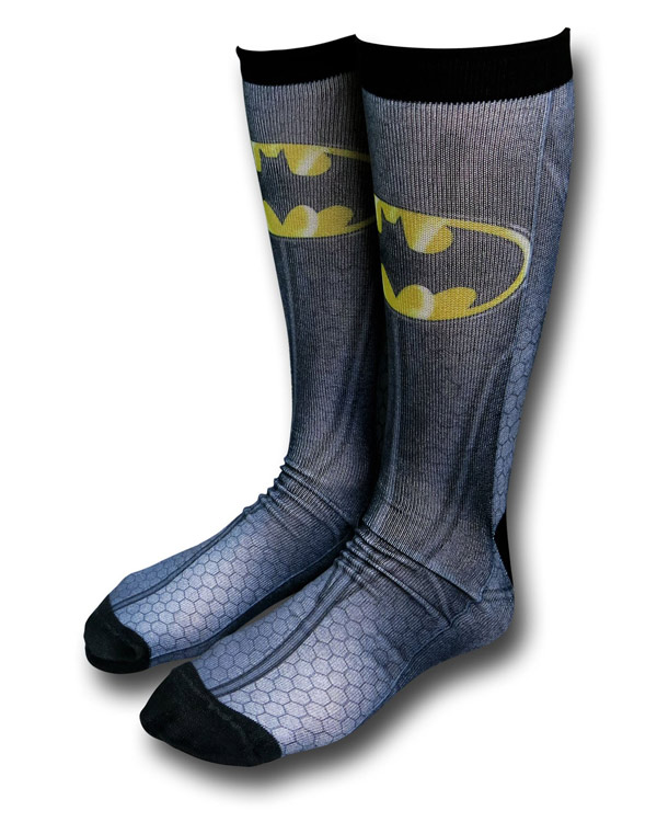 Batman Sublimated Crew Socks
