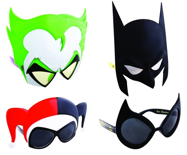 Batman Sunstaches Sunglasses