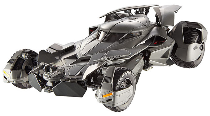 Batman v Superman Hot Wheels Elite Die-Cast Batmobile