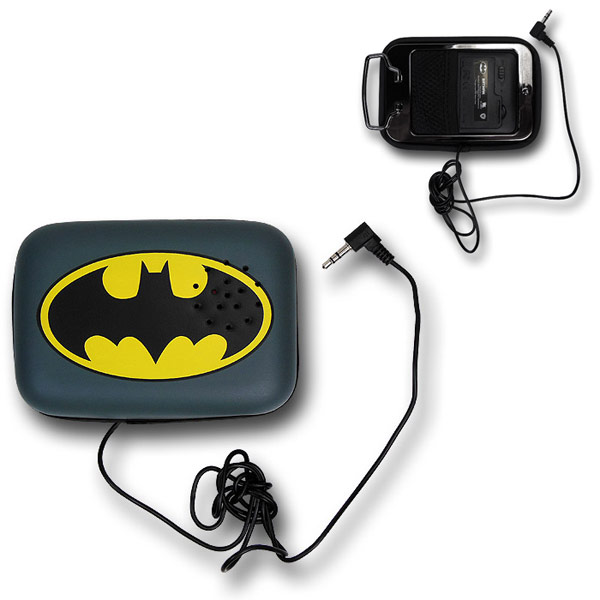 Batman Symbol Belt Buckle with Speaker