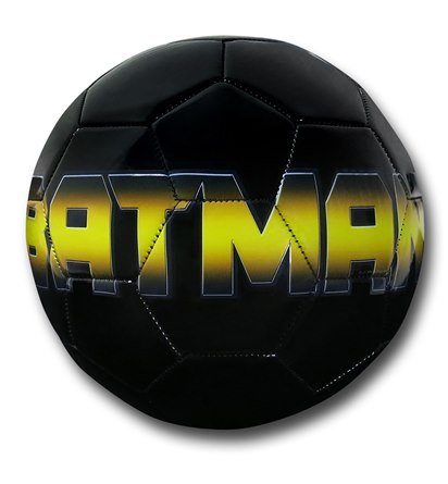 Batman Symbol Size 5 Soccer Ball