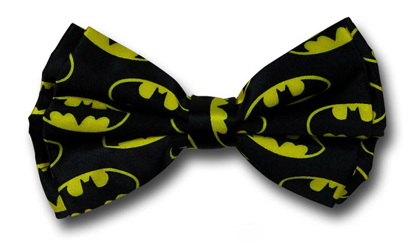Batman Symbols Bow Tie