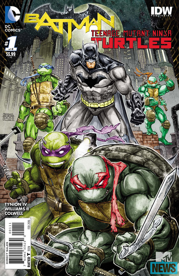 Batman Teenage Mutant Ninja Turtles Comic Book