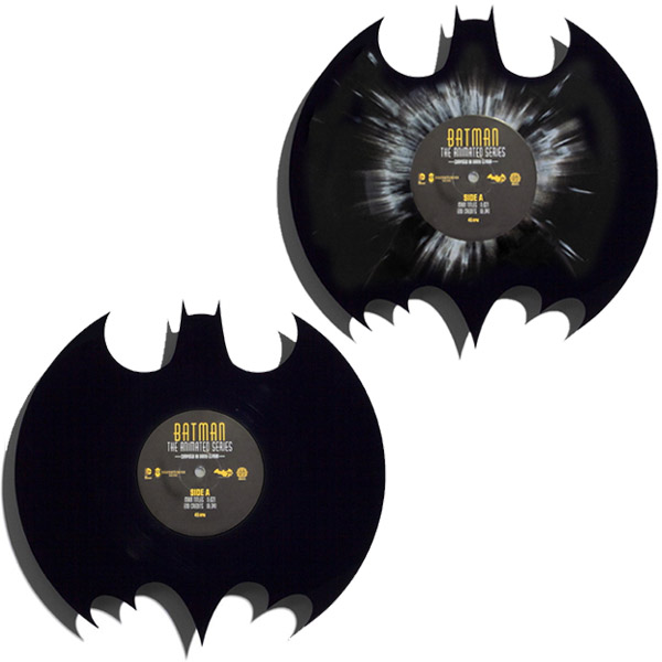 Batman The Animated Series Die-Cut 12-Inch Single