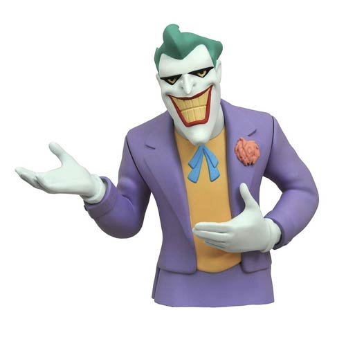 Batman The Animated Series Joker Bust Bank