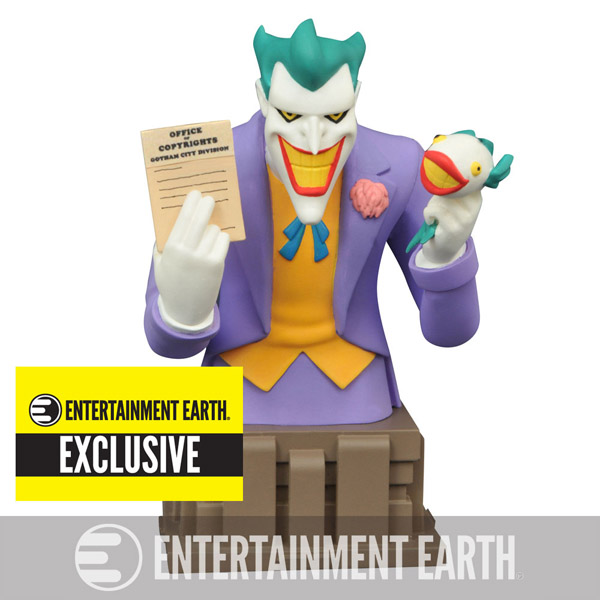 Batman The Animated Series Laughing Fish Joker Bust