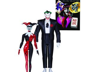 Batman The Animated Series Mad Love Joker and Harley Quinn Action Figure 2-Pack
