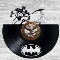 Batman The Animated Series Vinyl Clock