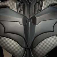 Batman The Dark Knight Life-Size Bust Chest Detail