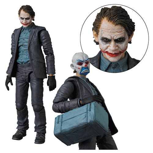 Batman The Dark Knight Movie Joker Version 2 Miracle Action Figure