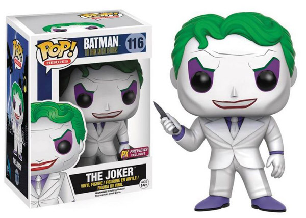 Batman The Dark Knight Returns Joker Pop Vinyl Figure