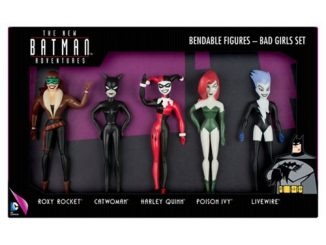Batman The New Batman Adventures Bad Girls Bendable Action Figure Boxed Set