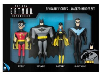 Batman The New Batman Adventures Masked Heroes Bendable Action Figure Boxed Set