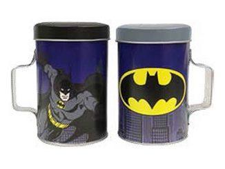 Batman Tin Salt and Pepper Shakers