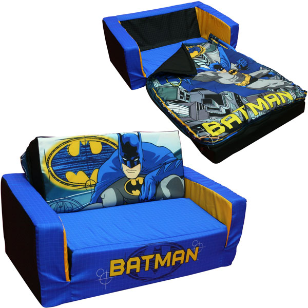 Batman toddler flip sofa - Sofa cama pequeno ...