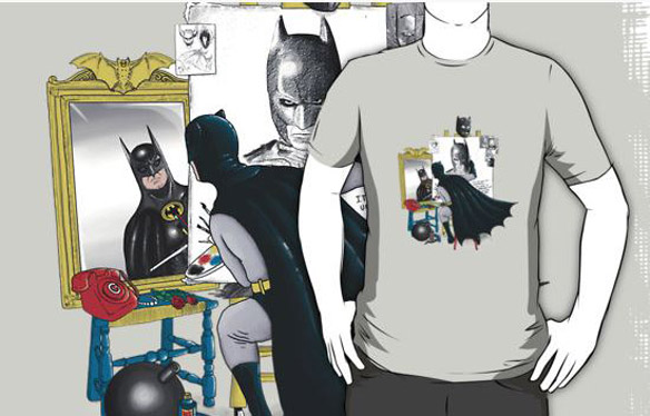 Batman Triple Knight Shirt