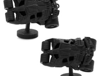 Batman Tumbler 3-D Cufflinks