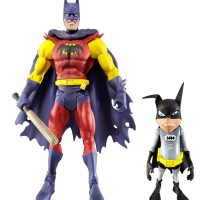 Batman Unlimited Planet X Batman with Batmite Figure