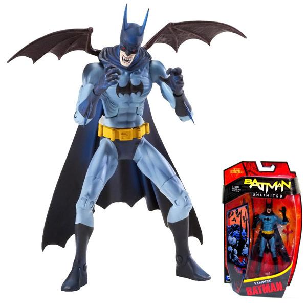 Batman Unlimited Vampire Batman Figure