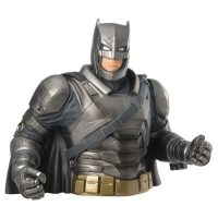 Batman V Superman Dawn of Justice Armored Batman Bust Bank