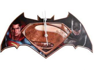 Batman V Superman Wall Clock