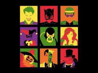 Batman Villain PopArt Shirt