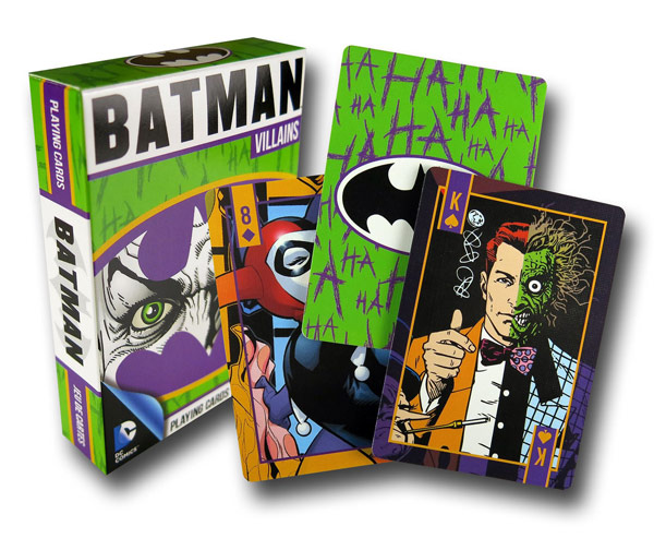 Batman Villains Boxed Playing Card Set