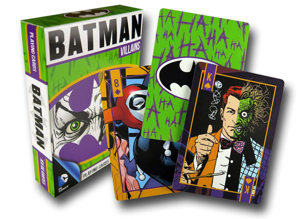 Batman Villians Playing Cards