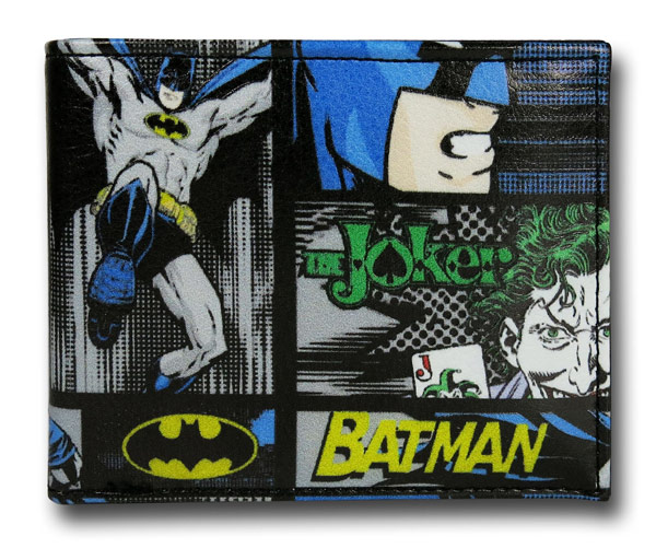 Batman Vs Joker BiFold Wallet