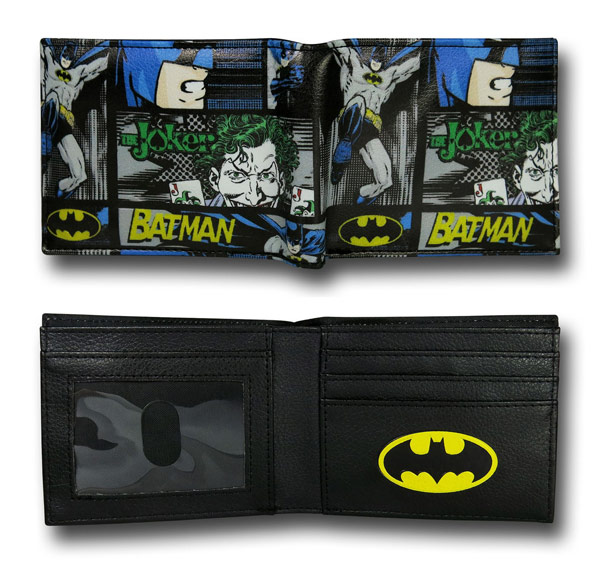 Batman Vs Joker Wallet