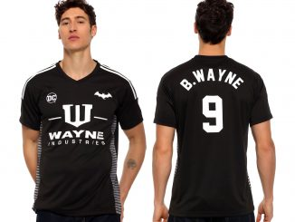 Batman Wayne Industries Soccer Jersey