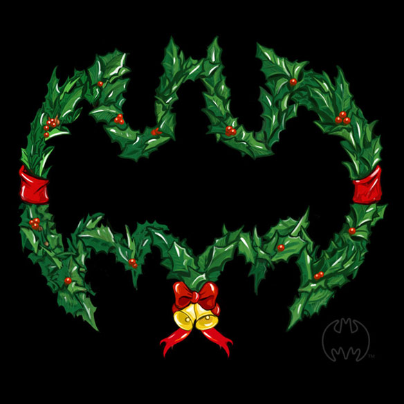 Batman Wreath TShirt