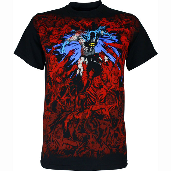 Batman Zombie Fight T Shirt