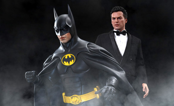 Batman and Bruce Wayne Sixth-Scale Figure Set