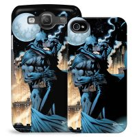Batman and Catwoman Kiss Phone Case for iPhone and Galaxy