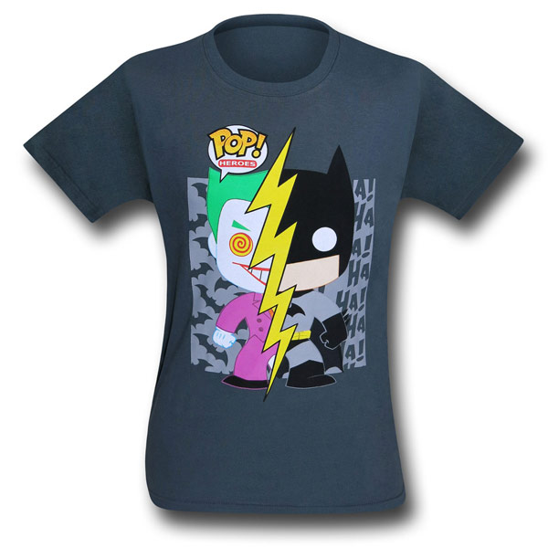 Batman and Joker Funko Kids Shirt