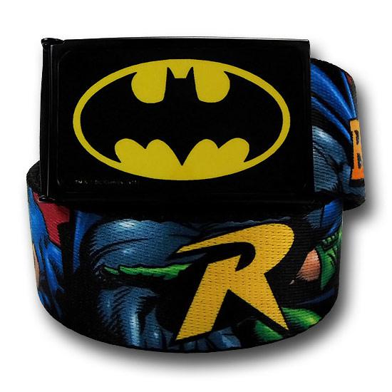 Batman and Robin Dynamic Duo Web Belt