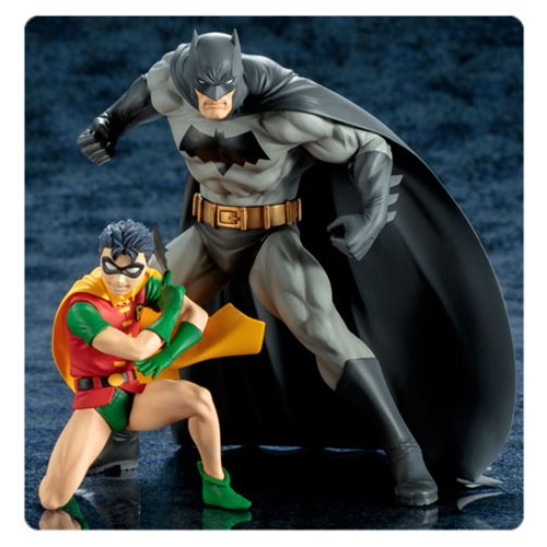 Batman and Robin The Boy Wonder ArtFX+ Statue 2-Pack