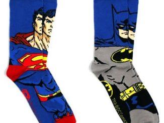 Batman-and-Superman-Crew-Socks