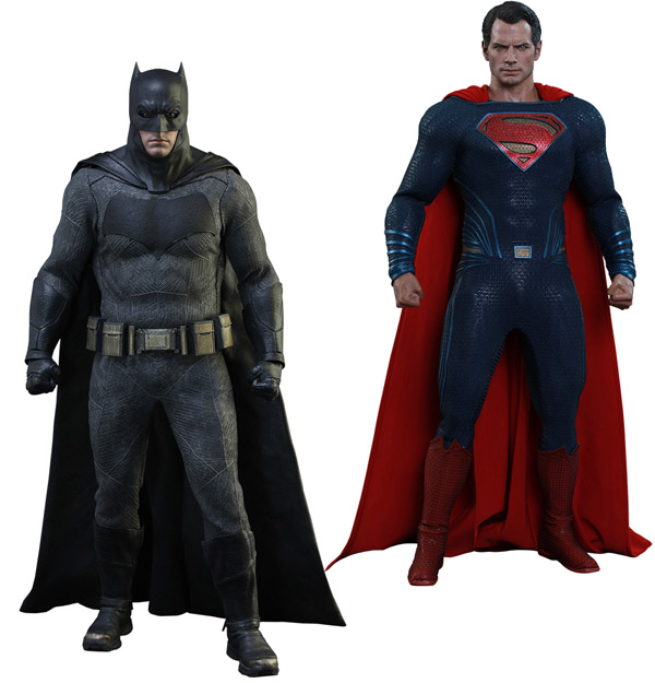 Batman and Superman Sixth-Scale Figure Set