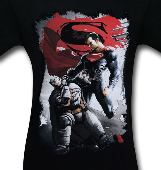 Batman v Superman Choke Shirt