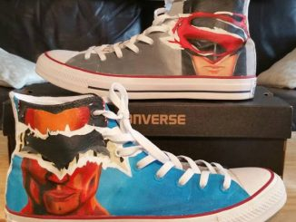 bc5596940a2f Flash Custom Converse Painted Shoes