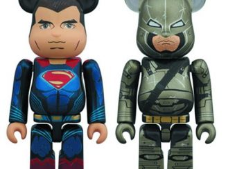 Batman v Superman: Dawn of Justice 100% Bearbrick 2-Pack